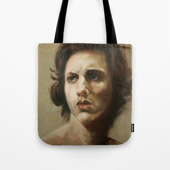 study of an angel Tote Bag