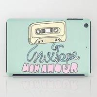 Mixtape mon amour iPad Case