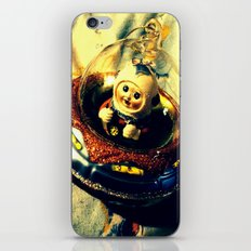 A Flying Saucer Christmas iPhone & iPod Skin