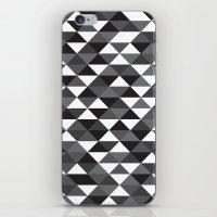 Triangle Pattern #4 iPhone & iPod Skin