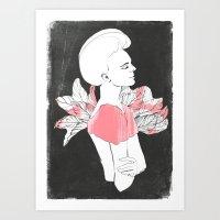 Marjorie Art Print