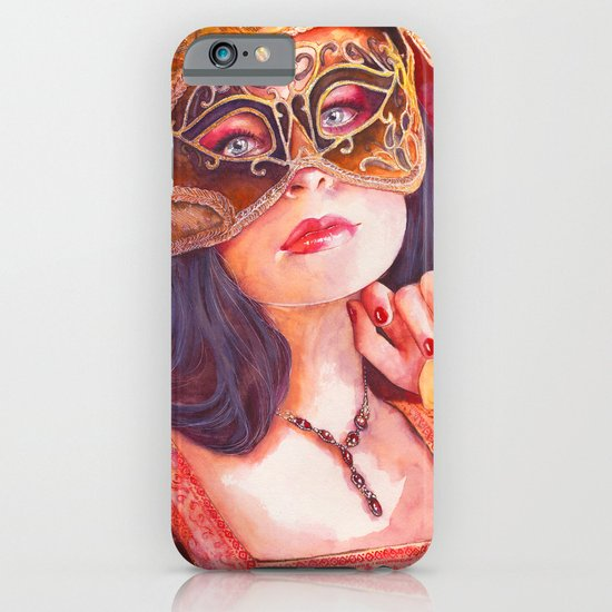 Lady Masquerade iPhone & iPod Case