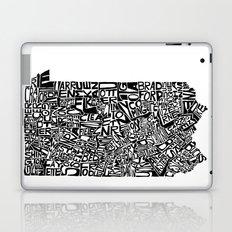 Typographic Pennsylvania Laptop & iPad Skin