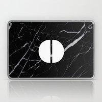 Black Marble - Alphabet … Laptop & iPad Skin