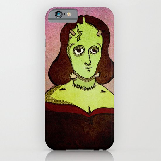 Prophets of Fiction - Mary Shelley /Frankenstein iPhone & iPod Case