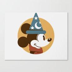 Headgear - Sorcerer's Apprentice Mickey Canvas Print
