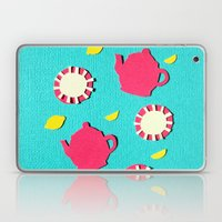 Turquois Tea Laptop & iPad Skin
