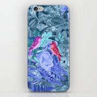 Blue&birds iPhone & iPod Skin