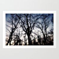 +a Soft Of Antlers; Danc… Art Print