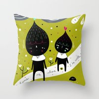 Home Is Where I'm With Y… Throw Pillow