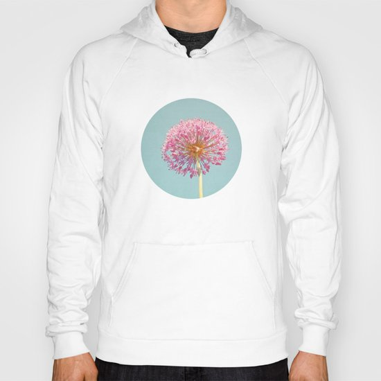 Pink Allium Hoody