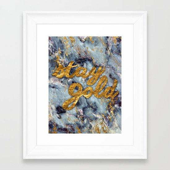 Pony Boy Framed Art Print