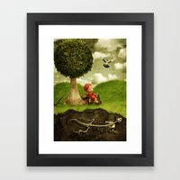 Dangers Framed Art Print