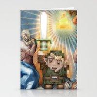 IRL Zelda Link Stationery Cards