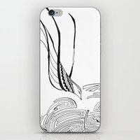 Squiggly Cloud And Squig… iPhone & iPod Skin
