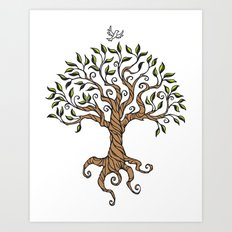 Shirley's Tree Art Print