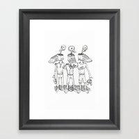 Consumerism Framed Art Print