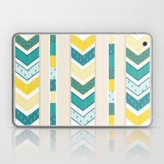 Sunshine Chevron Laptop & iPad Skin