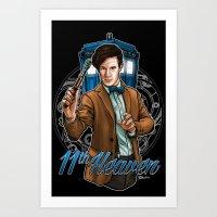 11th Heaven Doctor Who Art Print