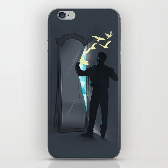 Release your inner self iPhone & iPod Skin