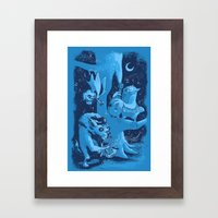 Children Of The Night Framed Art Print