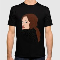 Divas Of POP: Adele Mens Fitted Tee Black SMALL