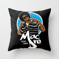 Andre 'Mac Dre' Hicks Throw Pillow