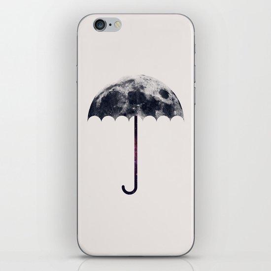 Space Umbrella II iPhone & iPod Skin