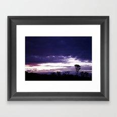 Hamptons Sunset Framed Art Print