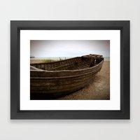 Shipwrecked Framed Art Print