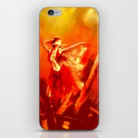 Ateş rengi iPhone & iPod Skin