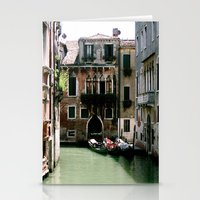 Water Filled Alleyway  Stationery Cards