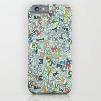 A1B2C3 ICE iPhone 6 Slim Case