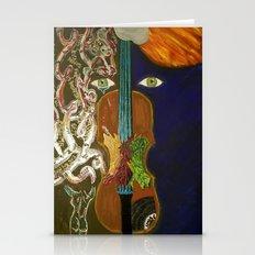 Falls Violin Stationery Cards