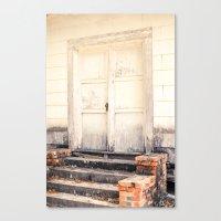 Closed Down Canvas Print