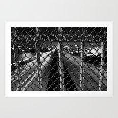 Overpass and Make it Last  Art Print
