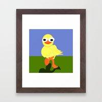 Whacky Bird Framed Art Print