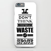 HP Quotes - Deathly Hall… iPhone 6 Slim Case