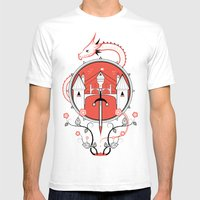 A Legend Of Blood Mens Fitted Tee White SMALL