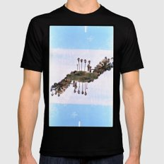 Landscapes c2 (35mm Double Exposure) Mens Fitted Tee Black SMALL