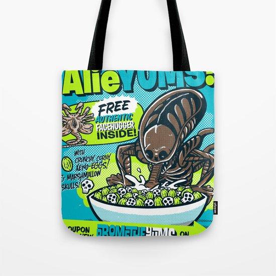 AlieYUMS! (blue variant) Tote Bag