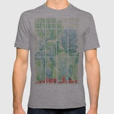 Winter in Glass Houses I Mens Fitted Tee Athletic Grey SMALL
