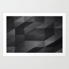 Faceted Art Print