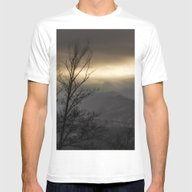 Winter Glow Mens Fitted Tee White SMALL