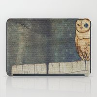 Whoo Goes There? iPad Case