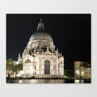 Santa Maria della Salute, Venice Canvas Print
