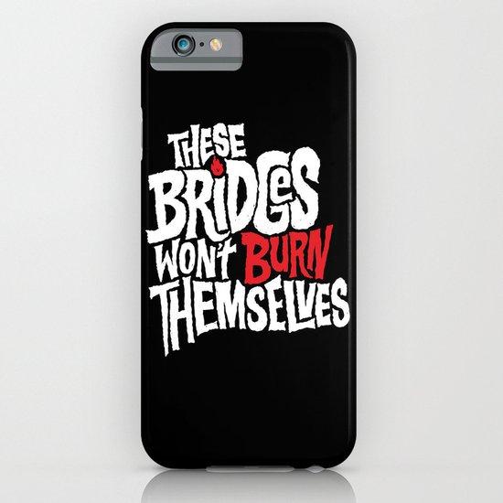 Burning Bridges iPhone & iPod Case