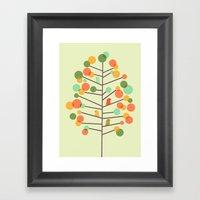 Happy Tree - Tweet Tweet Framed Art Print