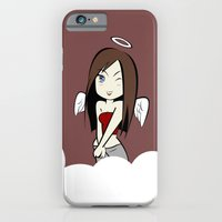 iPhone & iPod Case featuring Ange by swisscreation