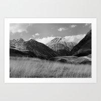 The Ice Cream Mountain Art Print